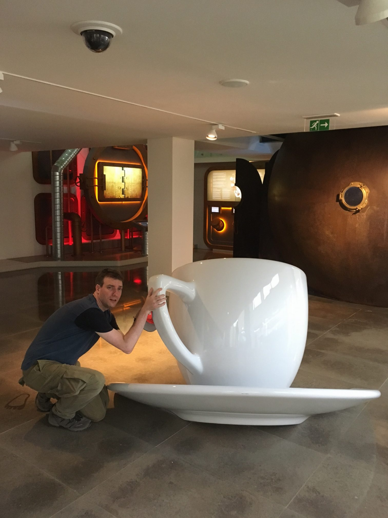 Coffee Museum in Portugal and my kind of cup of coffee